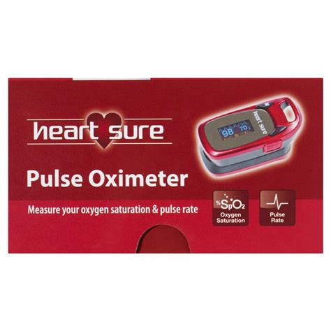 Buy Heart Sure Pulse Oximeter Online at Chemist Warehouse®