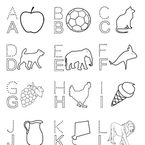 alphabet drawing book  getdrawings