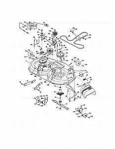 Craftsman Model 917289341 Lawn  Tractor Genuine Parts