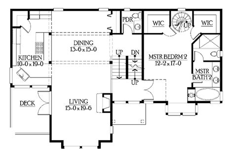 Harmonious Split Level House Floor Plans by House Plans And Design Modern House Plans Split Level