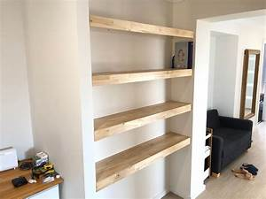 Re, Floating, Shelves