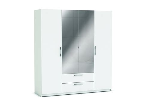 chambre appareil photo armoire 4 portes 2 tiroirs jupiter coloris blanc vente