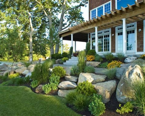 amazing rock landscaping ideas  front yard styles inspiring landscaping front yard