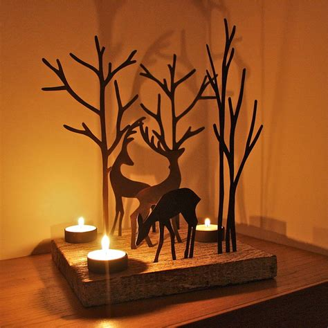 christmas reindeer triple t light decoration by london