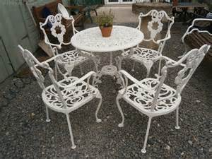 antiques atlas metal garden table 4 chairs