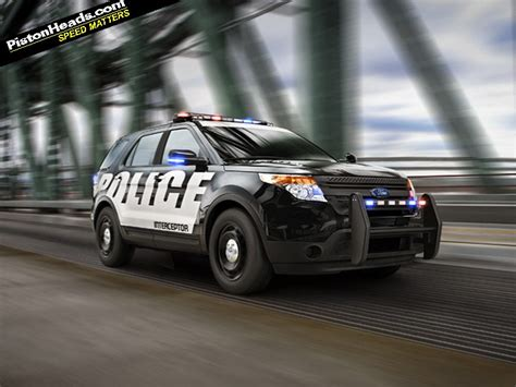 fastest police car ford interceptors fastest cop cars in the us pistonheads