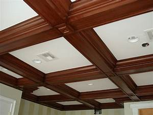 Coffered, Ceiling, Molding