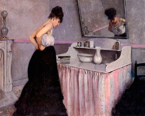 gustave caillebotte femme 224 sa toilette 1873