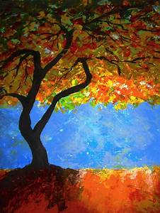 1000+ images about Fall Tree Watercolor paintings. on ...