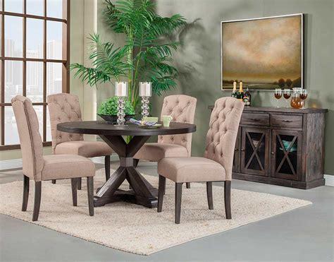 salvaged grey  dining table af  modern dining