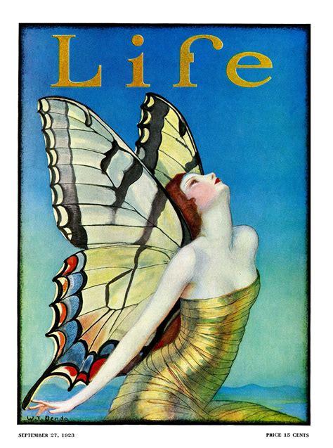 Life Magazine Cover: 1923 W.T. Benda - September 27