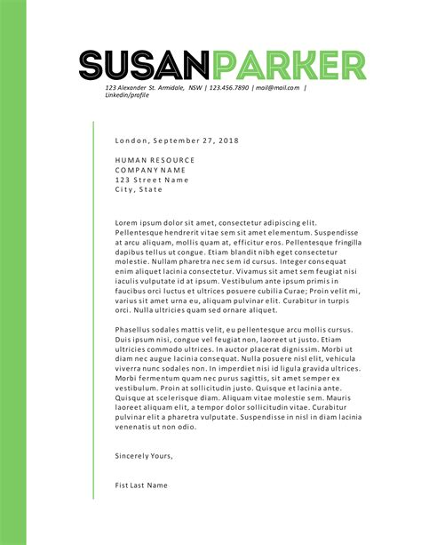 bold green modern resume template resume templates on