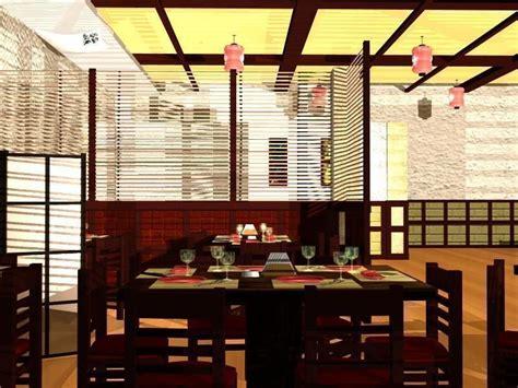 ma cuisine 3d japanese restaurant interior 3d model obj ma mb cgtrader com