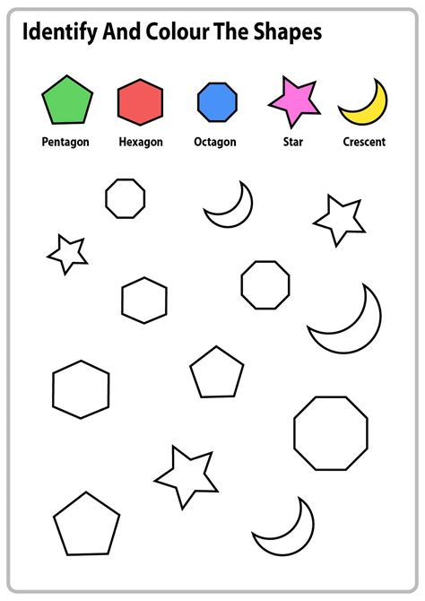 worksheets for 5 years olds printable shelter