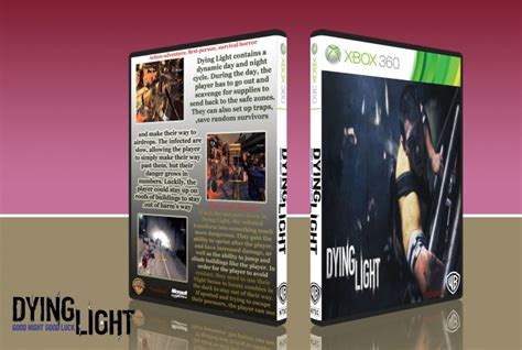 dying light xbox 360 dying light xbox 360 box cover by newman