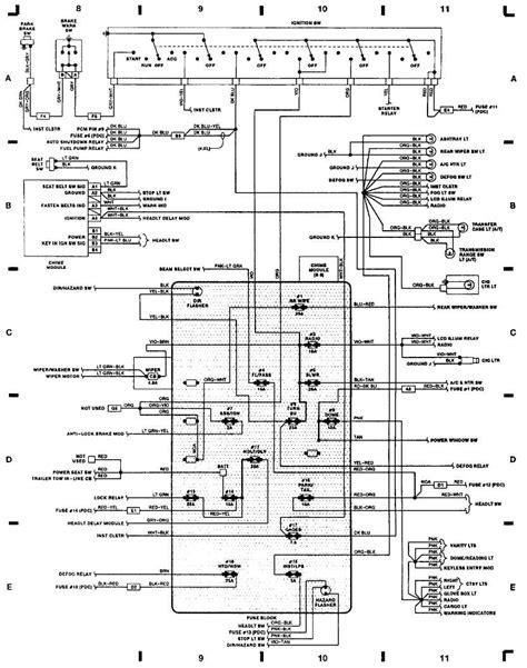 1993 jeep grand wiring harness jeep auto wiring