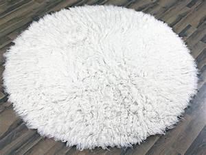 Big White Fluffy Rug - Rugs Ideas