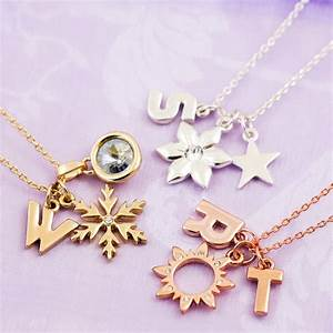 Design your own chunky letter necklace by js jewellery for Make your own letter necklace