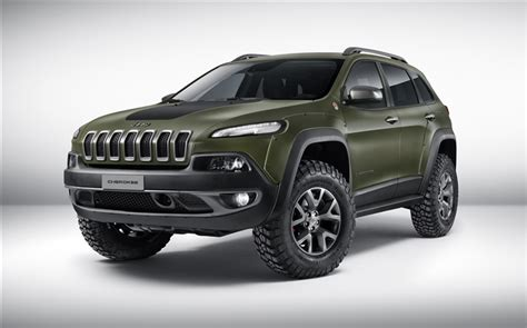 jeep cherokee green 2015 2015 jeep cherokee concept de voiture de couleur verte hd