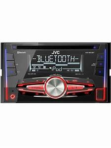 Refurbished   Jvc Kw Mp3 Double Din Head Unit