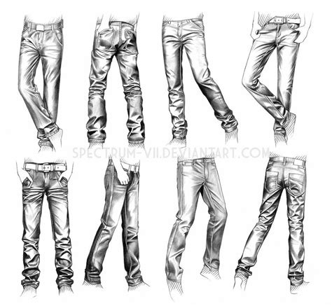 ropa estudio jeans por spectrum vii en deviantart