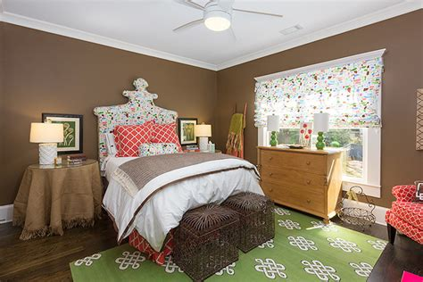 Bedroom Designs Green And Brown by Brown And Green Bedroom Eclectic Bedroom Colordrunk