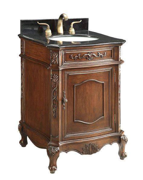 8 spread faucet adelina 24 inch antique bathroom vanity sink black