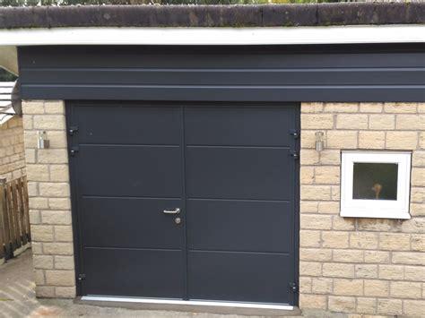 carteck side hinged doors broadbottom pennine garage doors