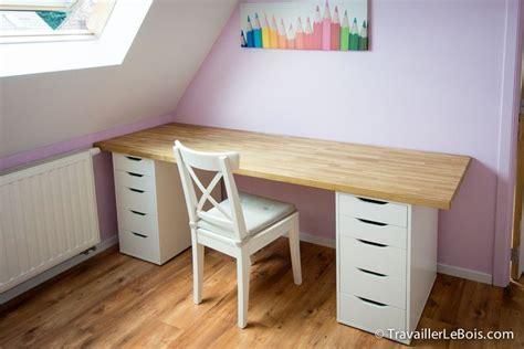 Bureau Blanc Ikea Caisson Clasf