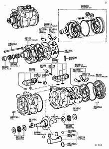 Toyota Tercel A  C Compressor Clutch Coil  Stator  Magnet