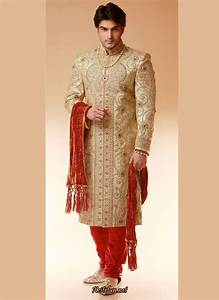 Indian groom dress wedding sherwanis xcitefunnet for Indian wedding dresses for groom