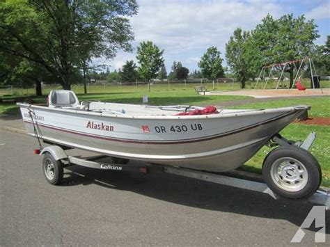 Aluminum Boats Portland Oregon by 15 Foot Smoker Craft Aluminum Fishing Boat For Sale In