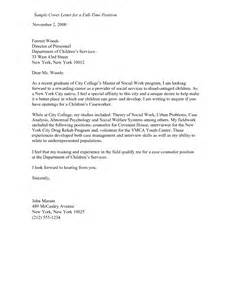 Sle Nanny Resume Cover Letter by Pdf Social Services Resume Cover Letters Book