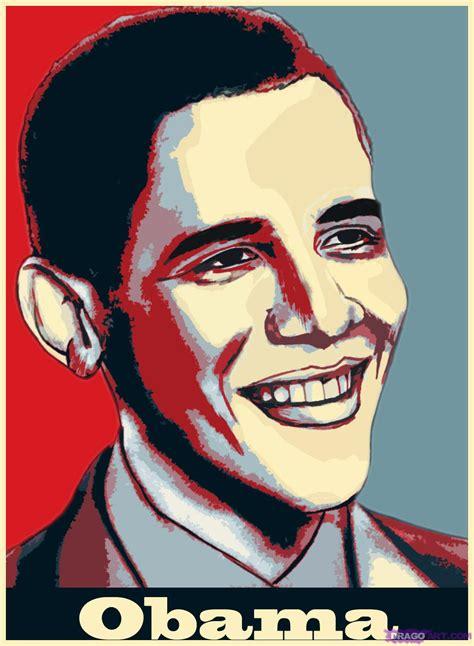 draw barack obama step  step stars people