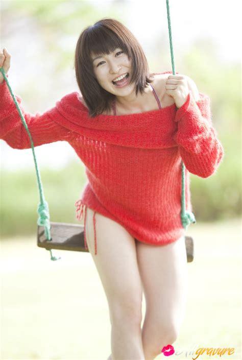 Mari Okamoto Asian Shows Sexy Legs In Very Naughty Photo