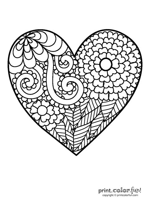 big heart coloring pages  getcoloringscom