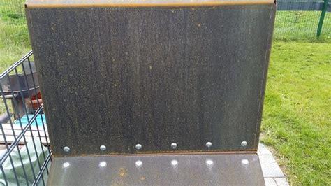 Cortenstahl Rosten Beschleunigen by Cortenstahl Schneller Rosten Lassen Wohn Design