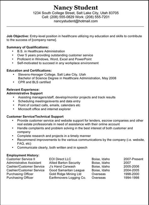 resume cover letter exles cover letter exle and
