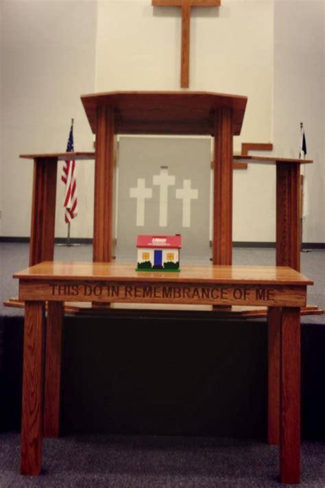 pulpit  blunt baptist church pews church furniture