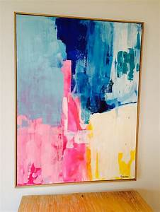 25 best ideas about bright abstract art on pinterest With what kind of paint to use on kitchen cabinets for create your own canvas wall art