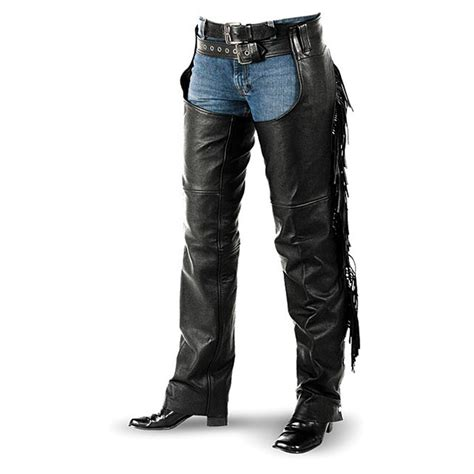 chaps blouses interstate leather 39 s fringe chaps 149106