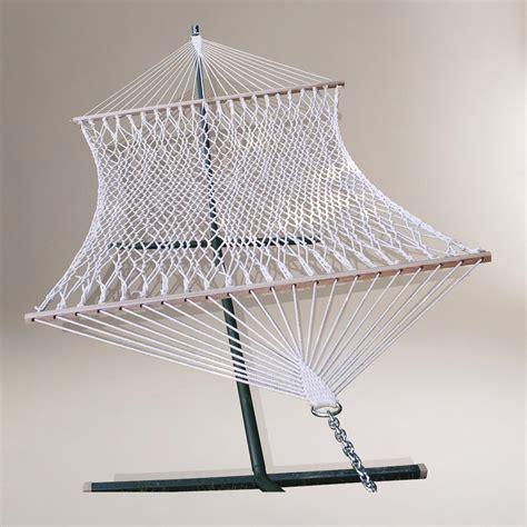 world market hammock single hammock cotton rope world market