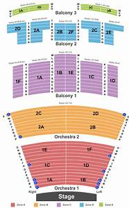 Heymann Performing Arts Center Seating Chart  U0026 Maps