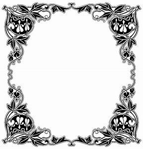 Cadre Noir Et Blanc : cadre vintage vintage coloriages difficiles pour adultes ~ Teatrodelosmanantiales.com Idées de Décoration