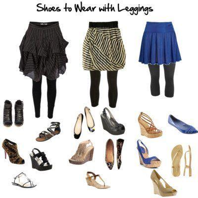 shoes  wear  leggings   style