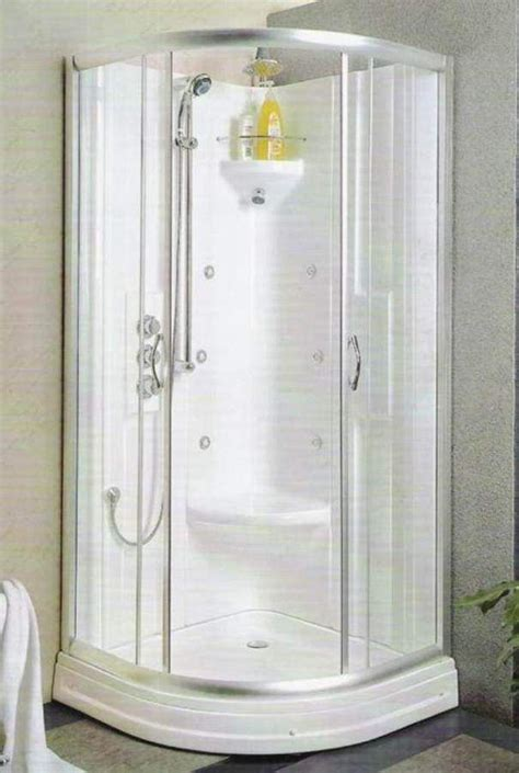 Shower Stalls For Small Space  The Ideal Corner Shower