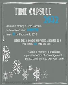 best 25 time capsule birthday ideas on pinterest With first birthday letter time capsule