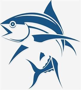 Cartoon Fish logo, Peces Marinos, Vector De Pescado ...
