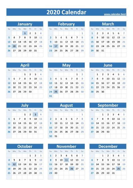 federal holidays list  calendars