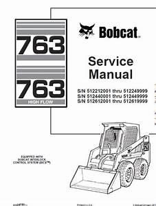 Bobcat 763 And 763hf Skid
